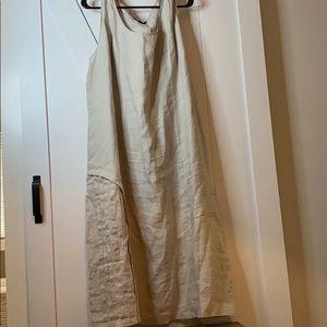 Kokomarina 100 % linen plus size dress sz 3x